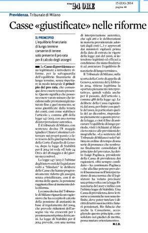 estratto-sole24ore-pro-rata-casse-luglio-2014